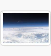 Atmospheric view Sticker