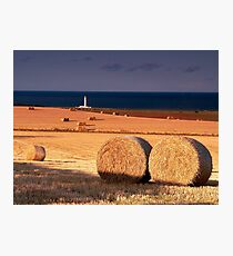 Barns Ness Lighthouse Photographic Print