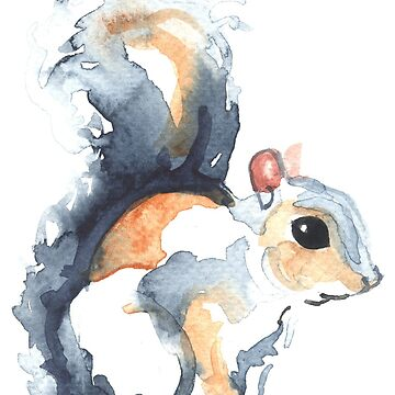 Grey Squirrel by desines