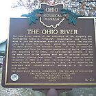 THE OHIO RIVER-HISTORICAL LAND MARK by James Gibbs