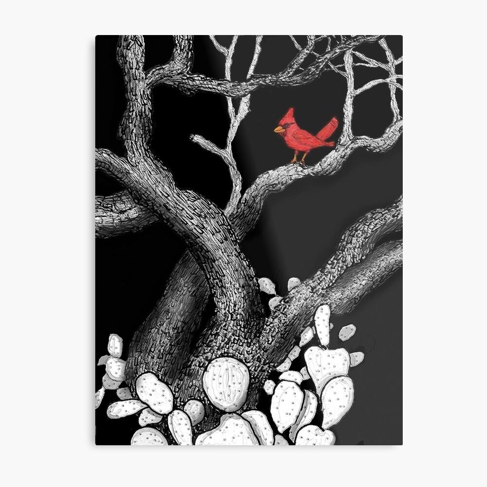 The return of the Cardinal  Metal Print