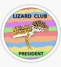 Lizard Club Sticker