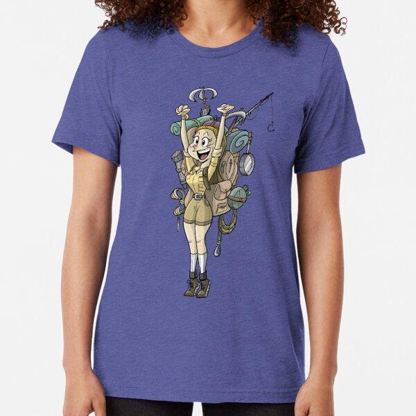 Kit Moonwood (by Richard Wallace) Tri-blend T-Shirt