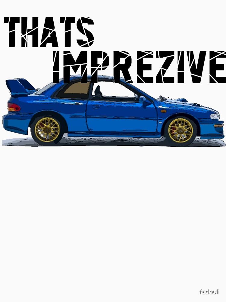 ¡Eso es Imprez! Subaru Impreza WRX STi 22B de fadouli