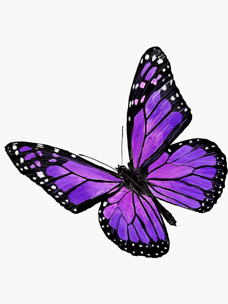 Purple butterfly by VikiKL