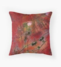Autumn Secrets Collaboration With Leah Highland Throw Pillow