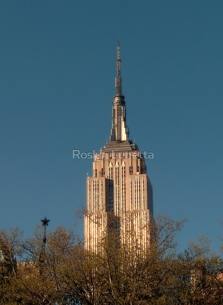 Empire State Building by Roslyn Lunetta