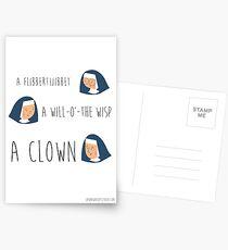 Sound of music nuns Postcards