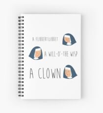 Sound of music nuns Spiral Notebook