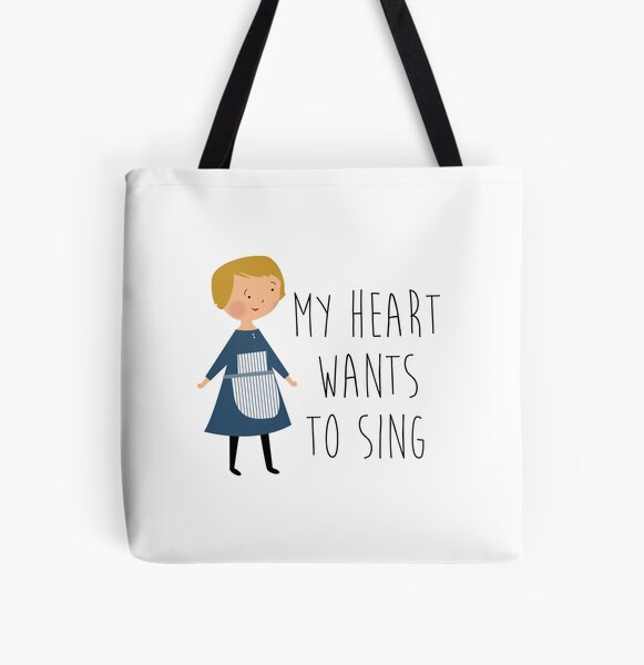 Sound of music maria All Over Print Tote Bag