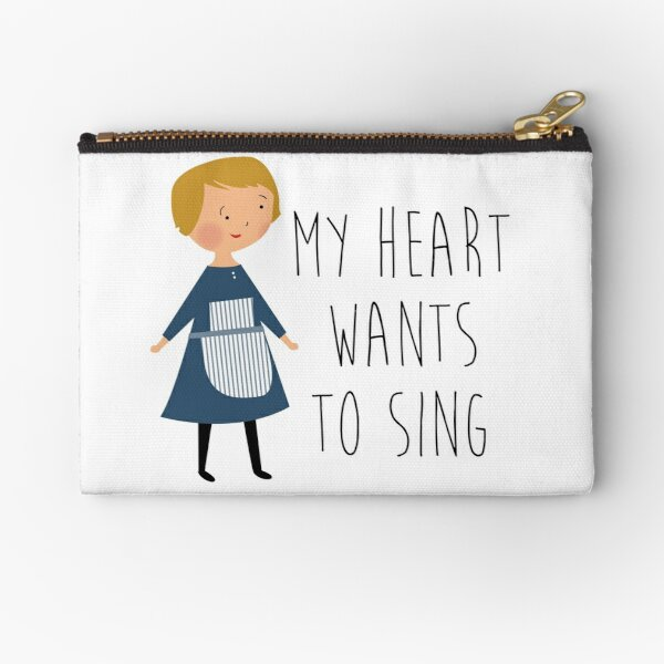 Sound of music maria Zipper Pouch