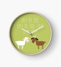 Sound of music goat herd Clock