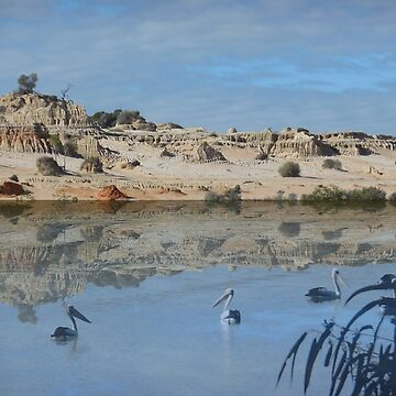Lake Mungo - an unreal landscape by davidfraser