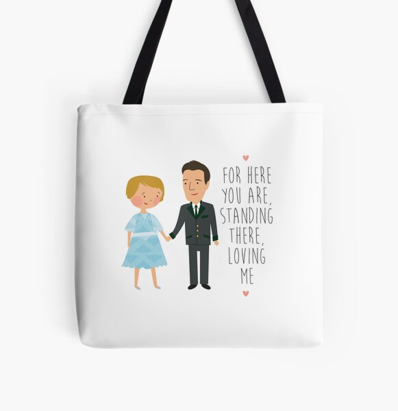 sound of music - loving me All Over Print Tote Bag