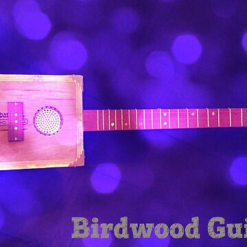 Birdwood Guitars Lightning Boy Purple by adam-harrison