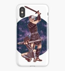 Space Gladiators iPhone Case