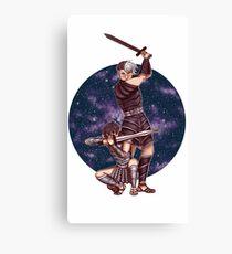 Space Gladiators Canvas Print