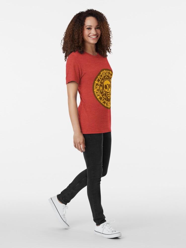 Alternative Ansicht von Medaillon Farbe Vintage T-Shirt