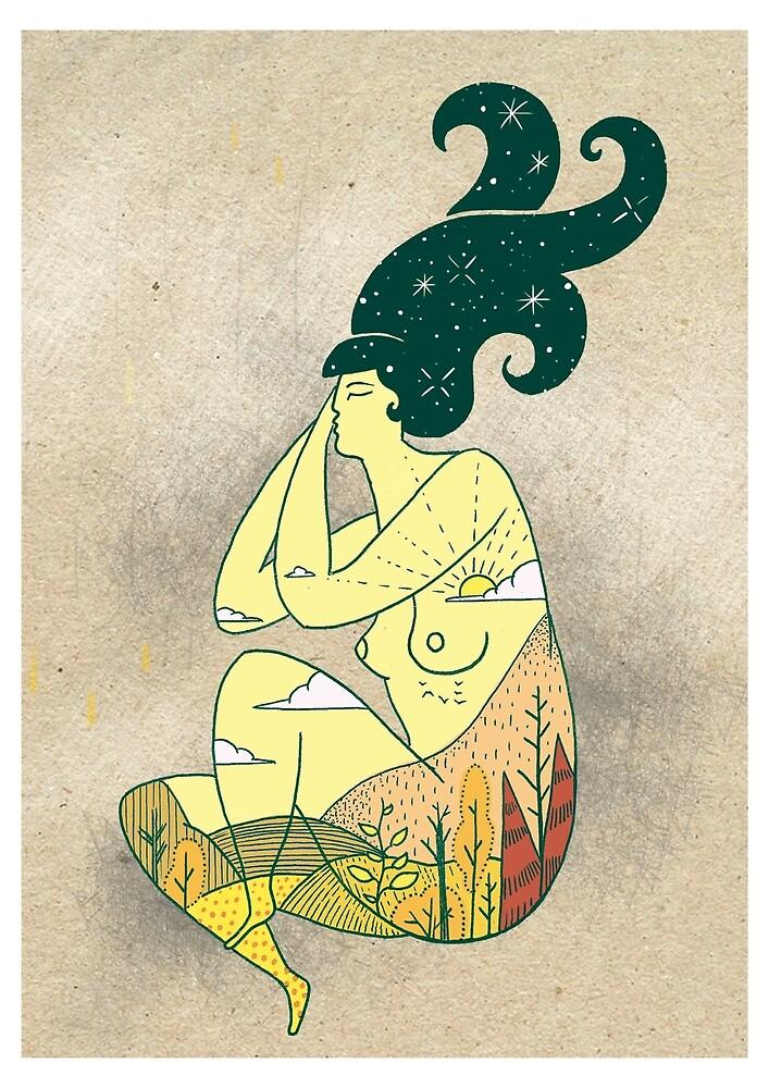 Pachamama by Elreygrafico