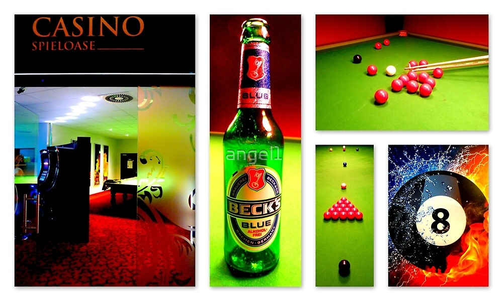 A Game Of Snooker  by ©The Creative  Minds