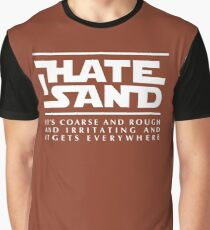 For sand haters (white) Graphic T-Shirt