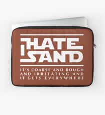 For sand haters (white) Laptop Sleeve