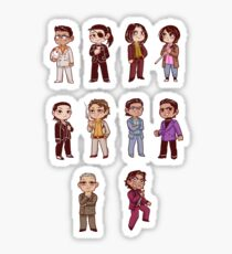 yakuza 0 character sticker sheet Sticker