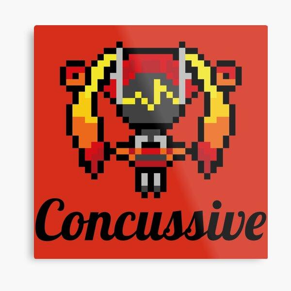 Dj Sona Concussive (Pixel) Lámina metálica