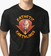 Ming the Merciless - Pathetic Earthlings Variant Two Tri-blend T-Shirt