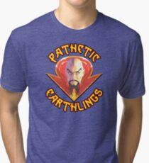 Ming the Merciless - Pathetic Earthlings Variant Two Tri-blend T-Shirt