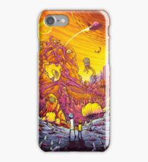 Rick And Morty - The World iPhone Case/Skin