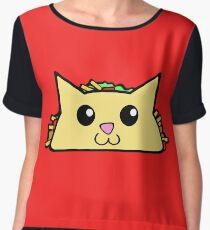 TACO CAT Women's Chiffon Top