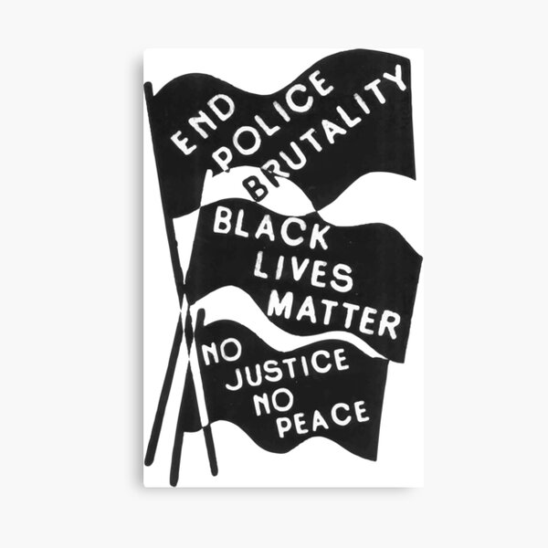 Black Lives Matter Canvas Print