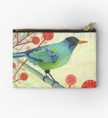 Green Honeycreeper Studio Pouch