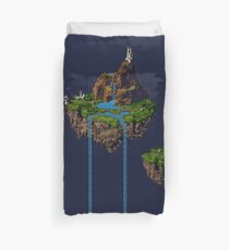 Zeal Kingdom Pixel Art Duvet Cover