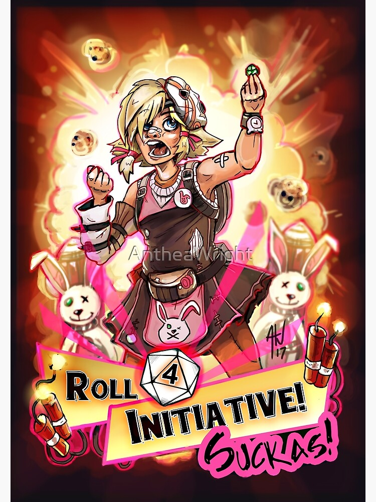 Roll for Initiative Suckas! by AntheaWright
