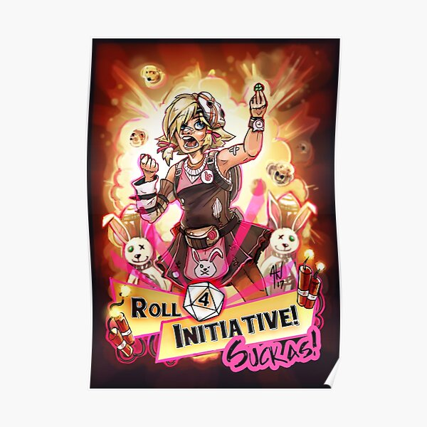Roll for Initiative Suckas! Poster