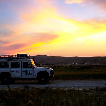 Sunset In The Desert by morgoldenberg