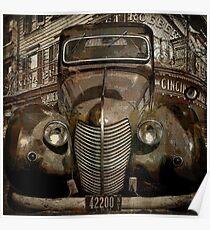 Vintage New York Automobile Poster
