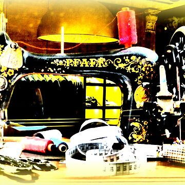 Antique Sewing Machine by angel1