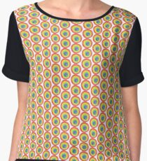 Energetic Abstractions - Painted Chakra Circle #2 Women's Chiffon Top