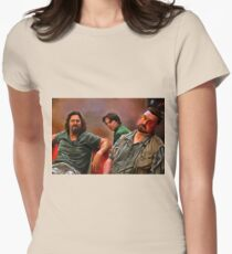 big lebowski dude Womens Fitted T-Shirt