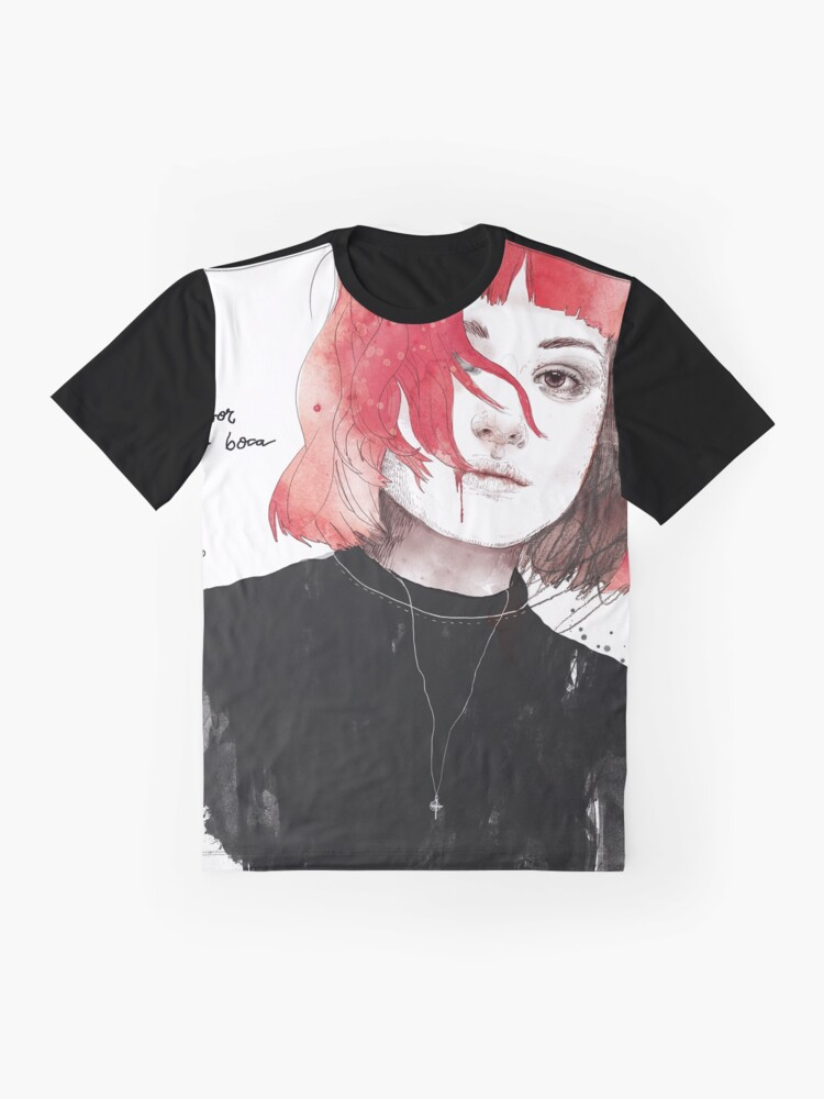 Vista alternativa de Camiseta gráfica MORIR POR LA BOCA