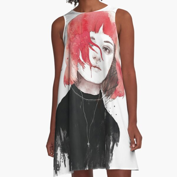 DIE BY THE MOUTH A-Line Dress