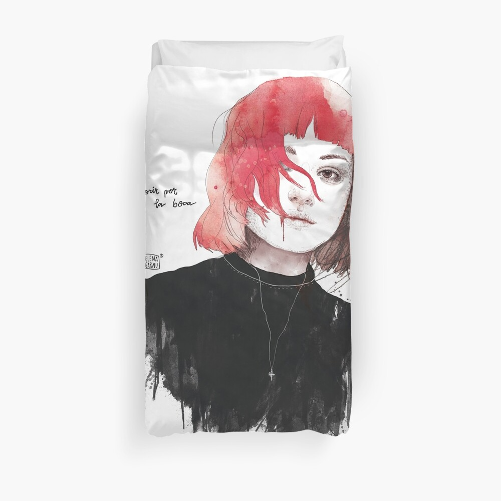 DIE BY THE MOUTH Duvet Cover