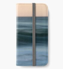Dialogue with the Sea iPhone Wallet/Case/Skin