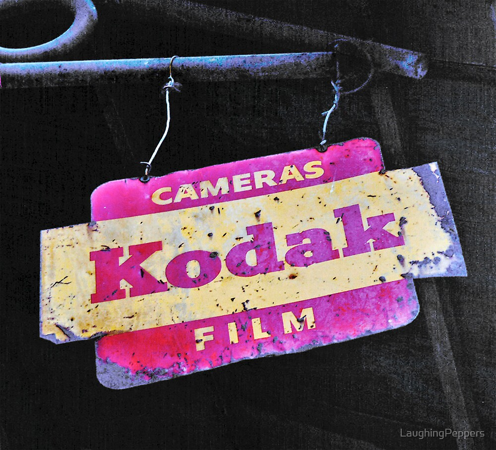 Old Kodak Sign by LaughingPeppers