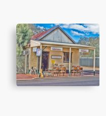Rabbit Shed, York, Western Australia Canvas Print