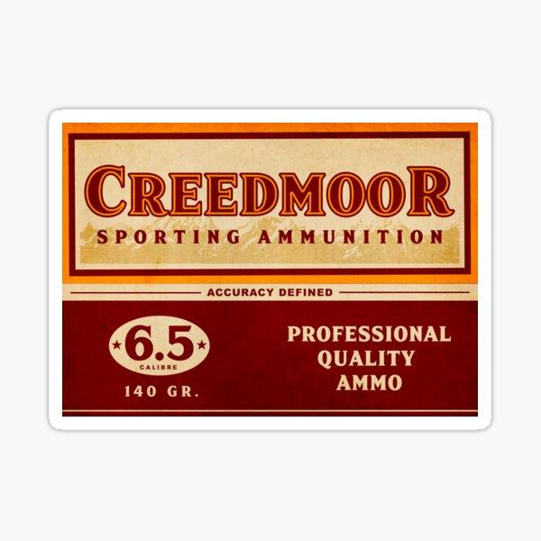 Creedmoor Sporting Ammunition | Vintage Poster Sticker