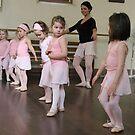 Ballet class by Magda Vacariu
